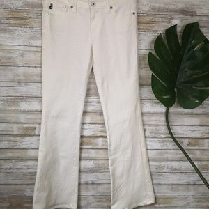Adriano Goldschmied white flair jeans 27
